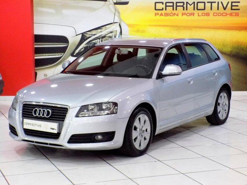 audi a3 sportback 1 9tdi ambiente 105 cv de segunda mano. Black Bedroom Furniture Sets. Home Design Ideas
