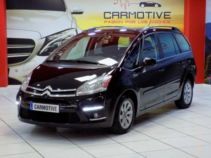 citroen grand c4 picasso 1 6 hdi millenium 112 cv 7 plazas de segunda mano. Black Bedroom Furniture Sets. Home Design Ideas