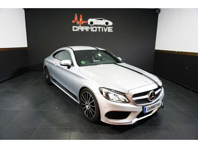 Mercedes-Benz C 220 d Coupe AMG Line