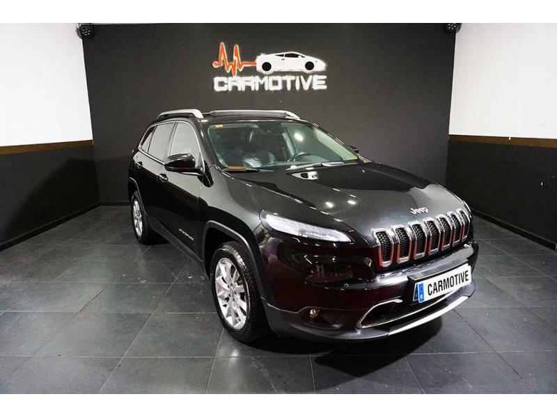 Jeep Cherokee 2.0 Diesel Limited 4x4 170 CV Auto.